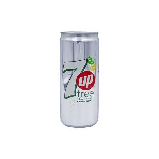 7UP FREE SOFT DRINK  330ML
