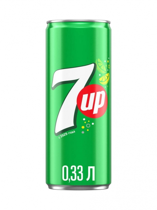 7UP SOFT DRINK  330ML