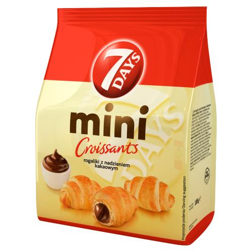 7DAYS MINI CROISSANTS WITH COCOA FILLING  185GR