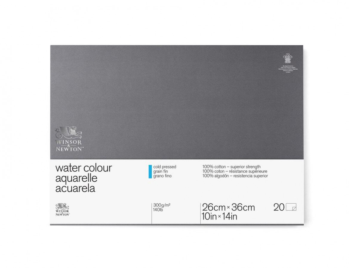Watercolour Block CP 300gsm 35.6 x 25.4cm