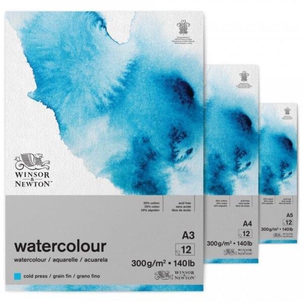 Winsor & Newton Watercolour Gummed Pad 140lb/300gsm