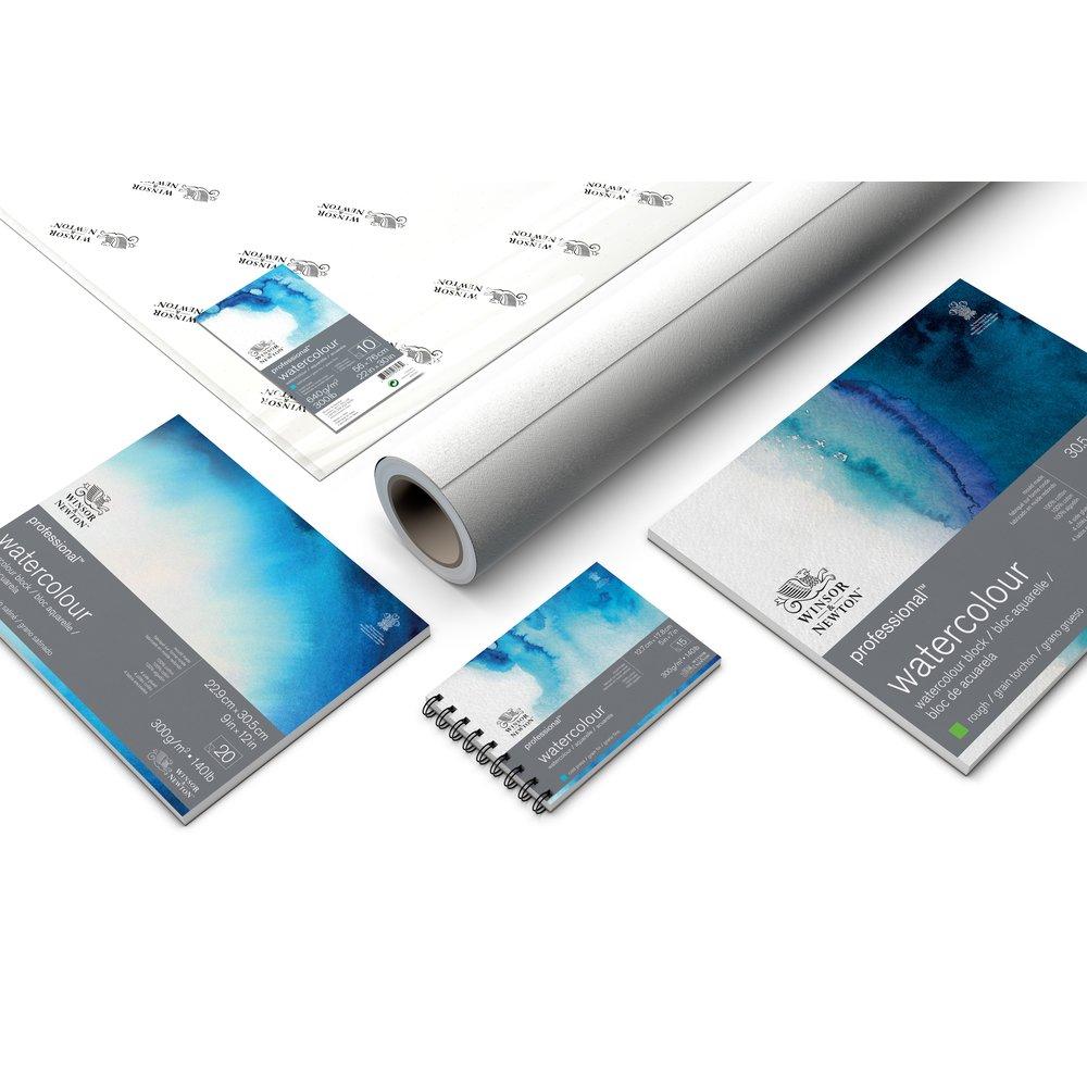 Professional Watercolour Paper 1.5X10M ROLL