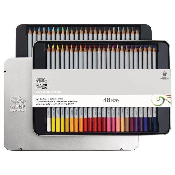 Winsor & Newton Coloured Pencils 48 Pack