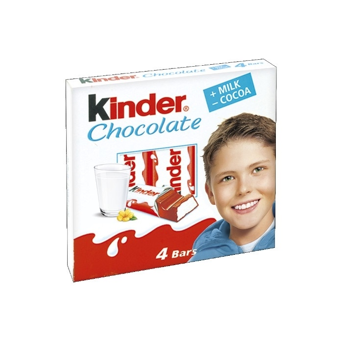 Kinder Chocolate X4 50g
