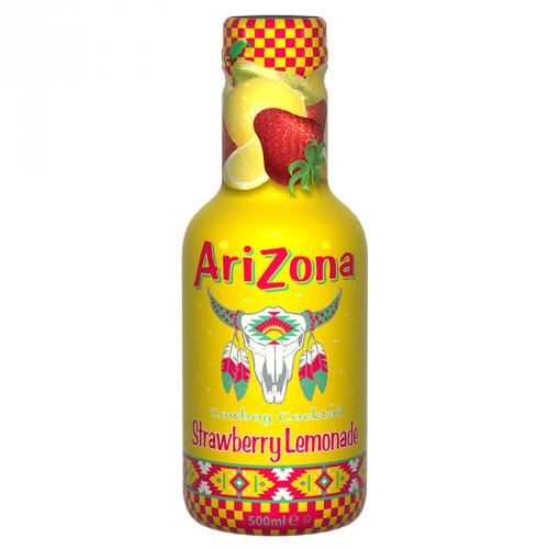 Arizona Cowboy Cocktail Strawberry Lemonade ZERO