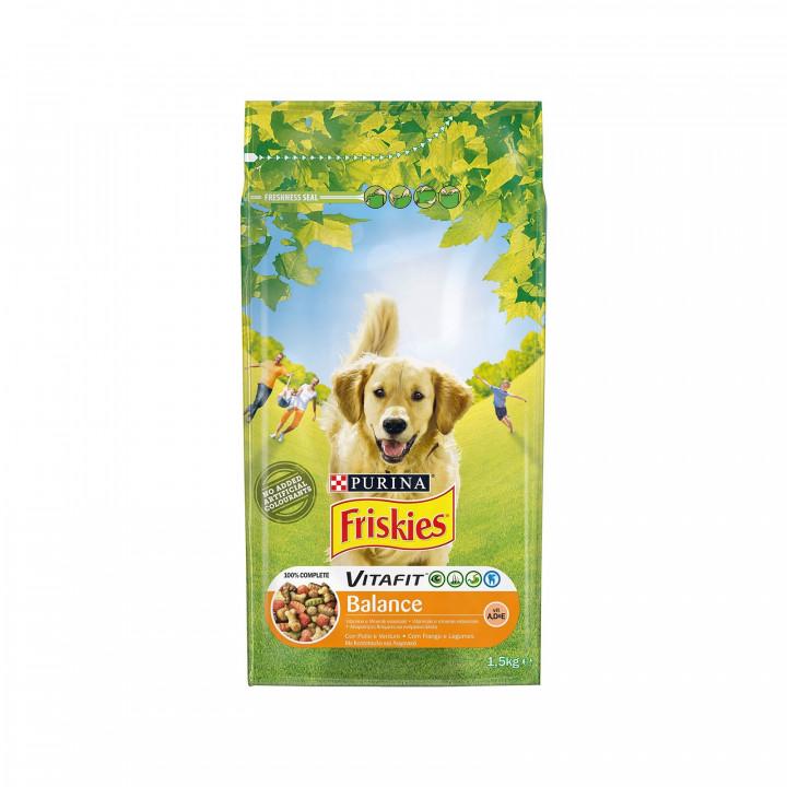 FRISKIES DOG VITAFIT BALANCE CHICKEN & VEGETABLE 1,5KG