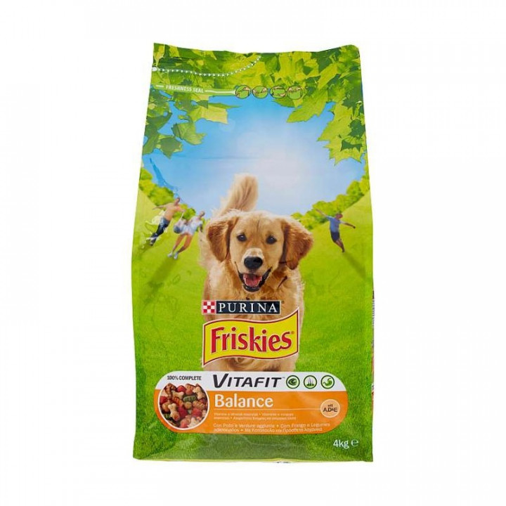 Friskies Purina Dry Food with chicken & vegetable 4kg