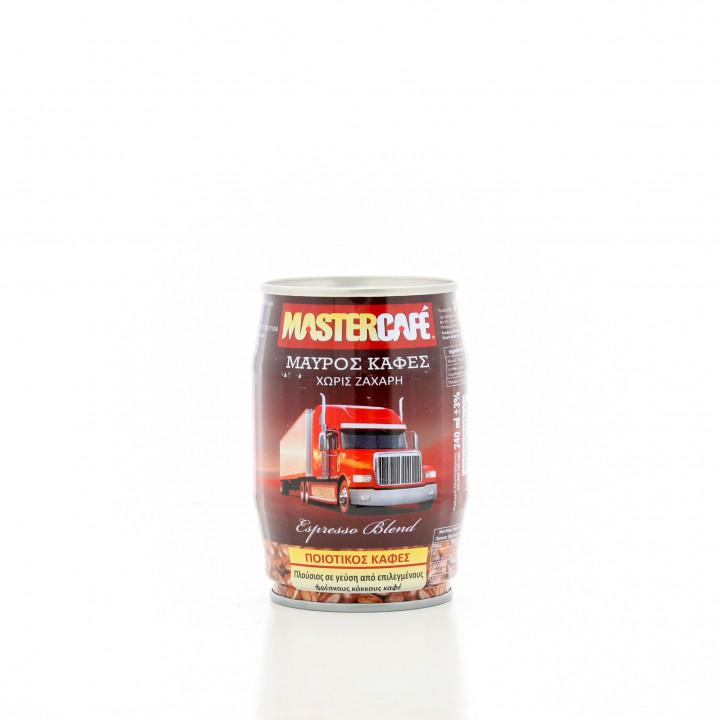 Mastercafe Black Coffee no sugar 240ml