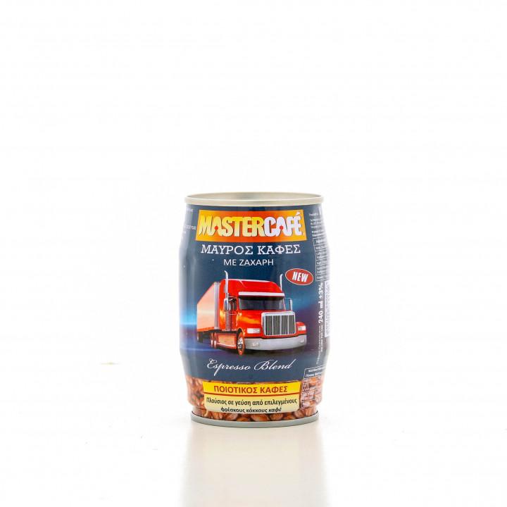Mastercafe Black and sugar 240ml