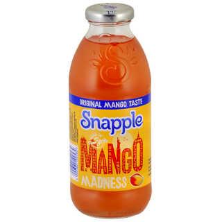 SNAPPLE MADNESS MANGO 473ML