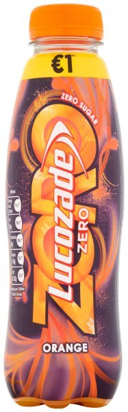 Lucozade Orange Zero 380ml