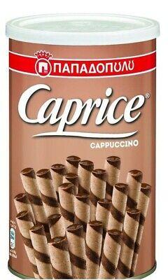 CAPRICE CAPPUCINO WAFER ROLLS 250G
