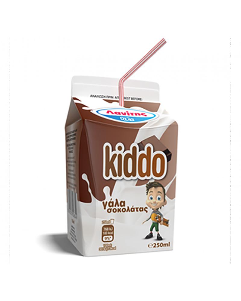 LANITIS KIDDO CHOCO MILK 250ML