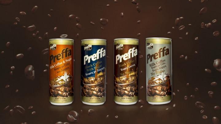 PREFFA MILK COFFEE, NO SUGAR 240ML