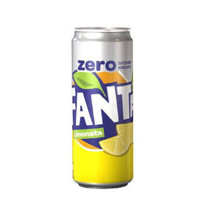 Fanta Lemon Zero 330ml