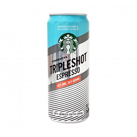 Starbucks Triple Shot Espresso Plus Milk No Sugar 300ml