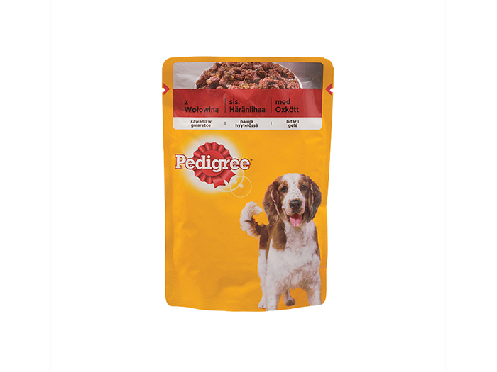 Pedigee Beef in Jelly Beef 100g