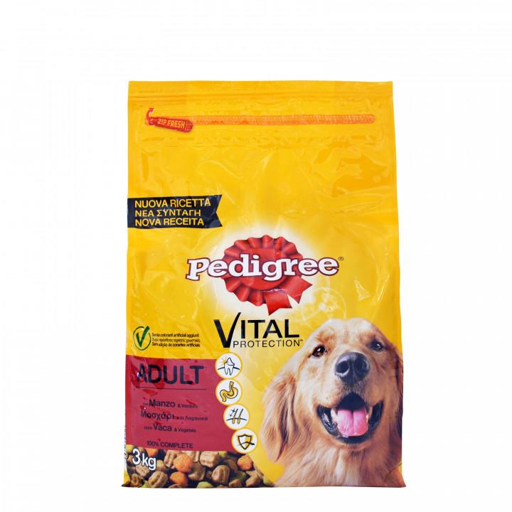 Pedigee Vital Protection Adult Beef & Vegetables 3kg
