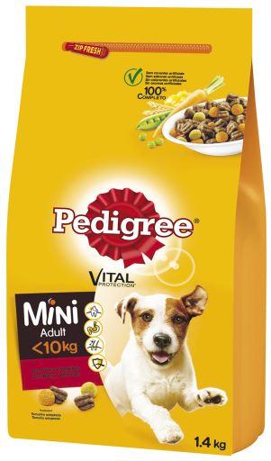 PEDIGREE MINI ADULT BEEF AND VEGETABLES 1.5KG