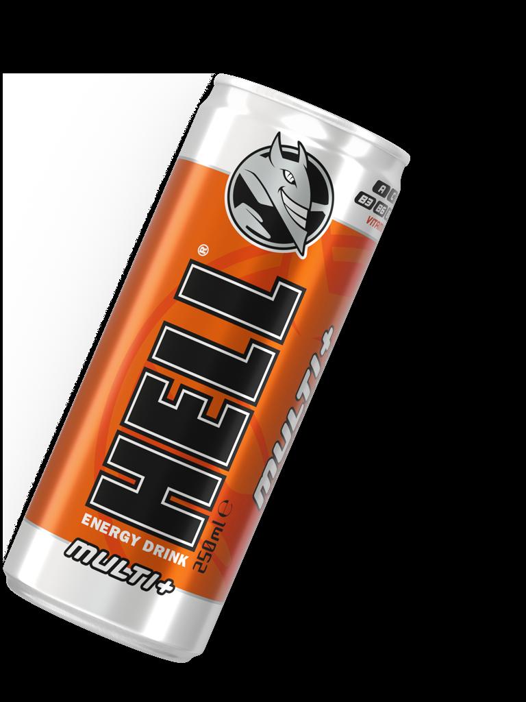 Hell Multi+ Orange 250ml