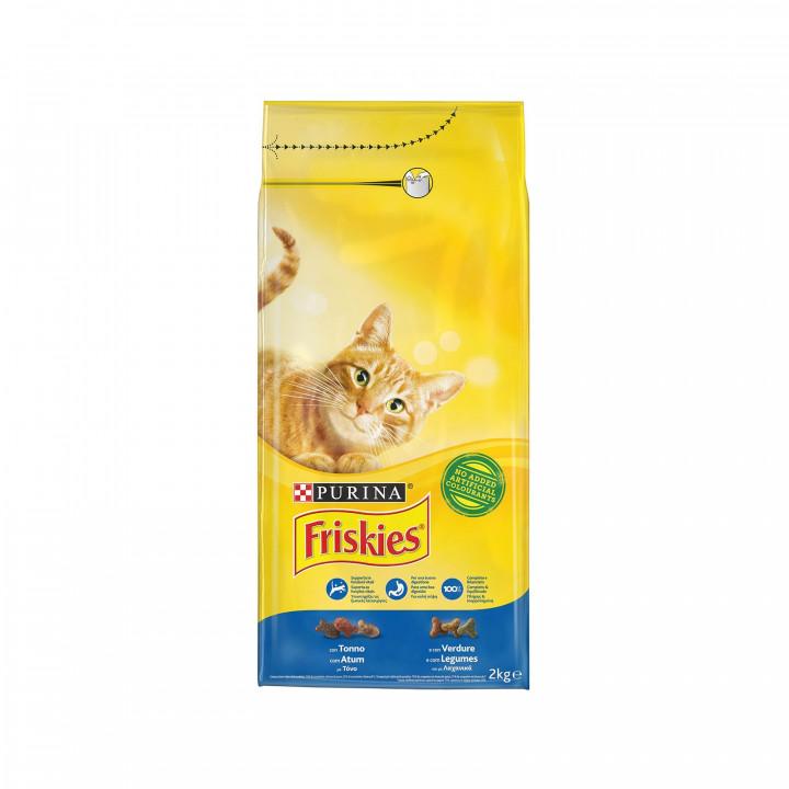 FRISKIES CAT TUNA & VEGETABLE 2KG