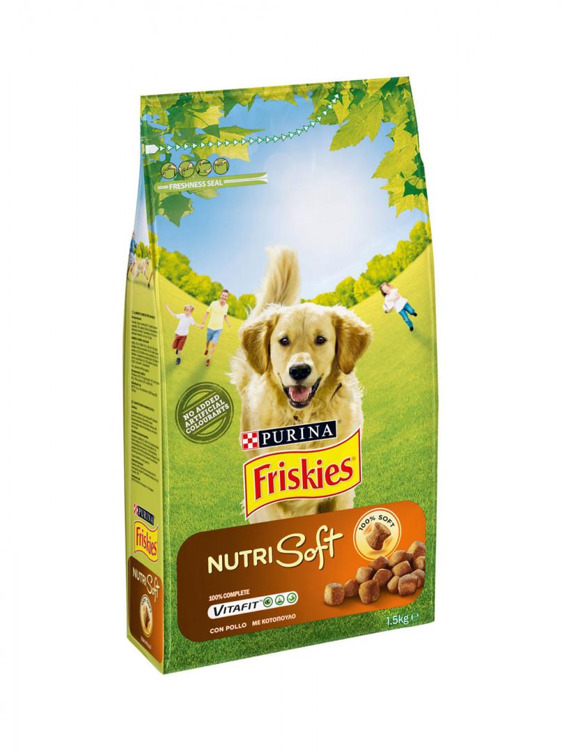FRISKIES DOG NUTRI SOFT VITAFIT CHICKEN 1,5KG