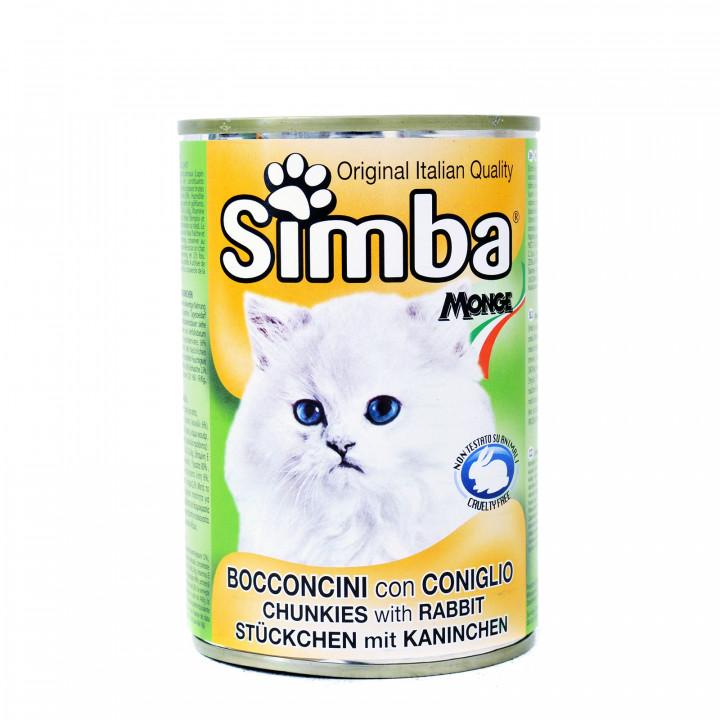 Simba Cat Chunkies with Rabbit 415g