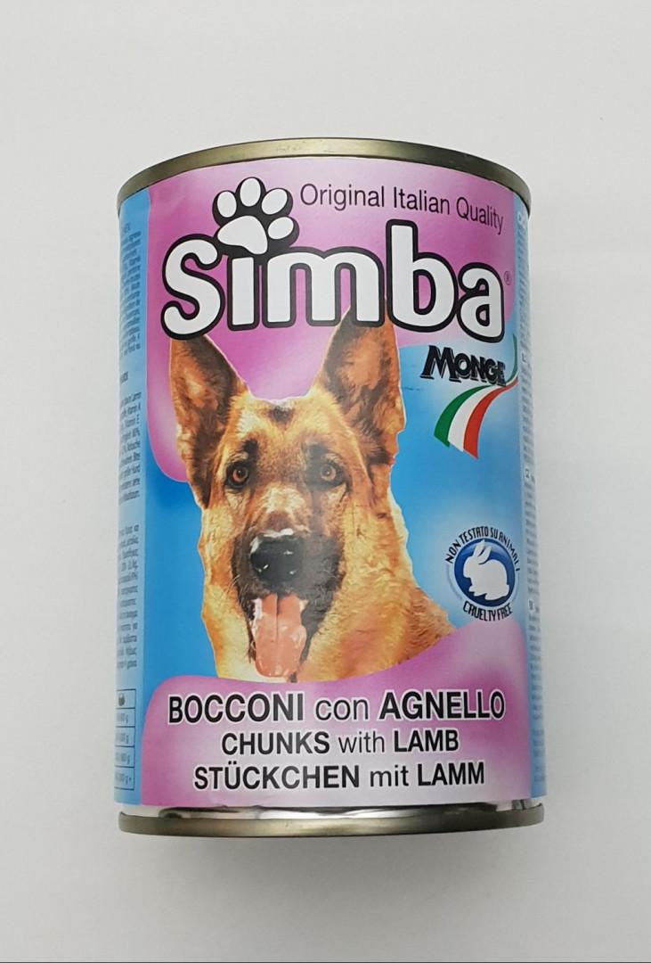 Simba Dog Chunks with lamb 415g