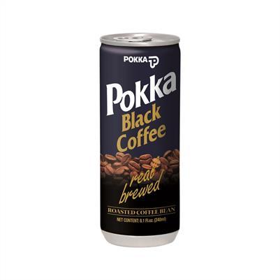 Pokka Coffee Black no sugar 240ml