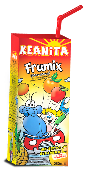 Φρουτοποτό Κεανίτα Frumix 250ml   KEANITA FRUMIX JUICE - 250ML