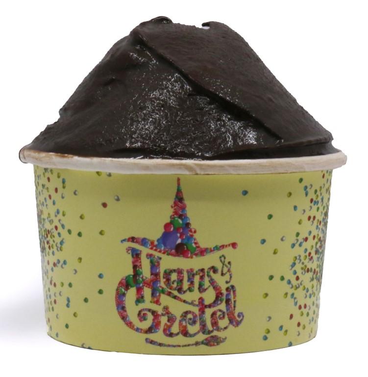 Dark Chocolate Ice Cream - large