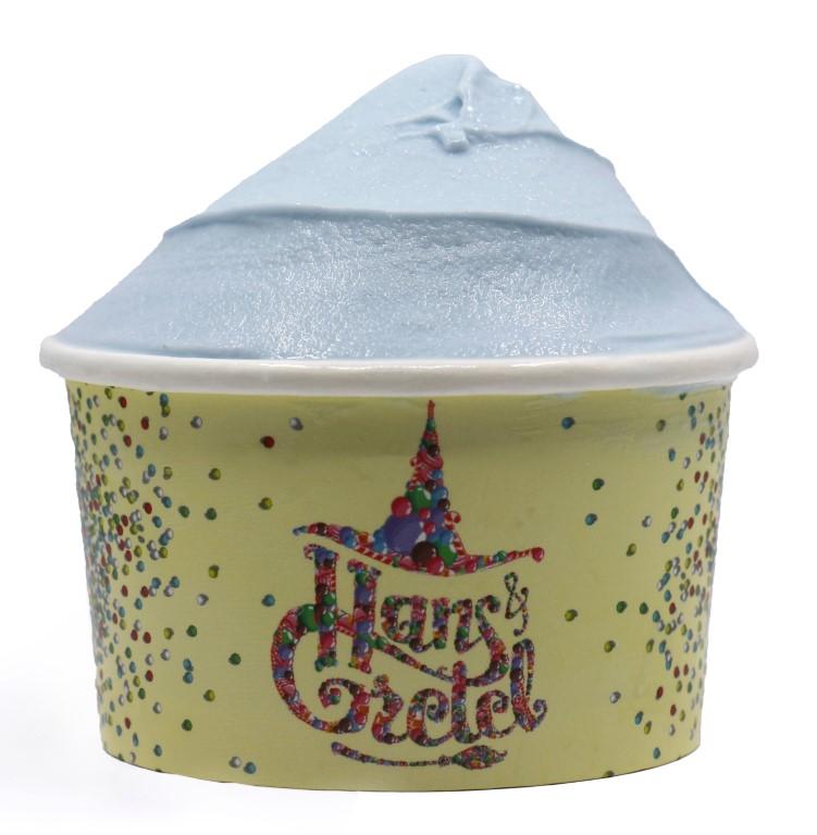 Blue Vanilla Ice Cream - Medium