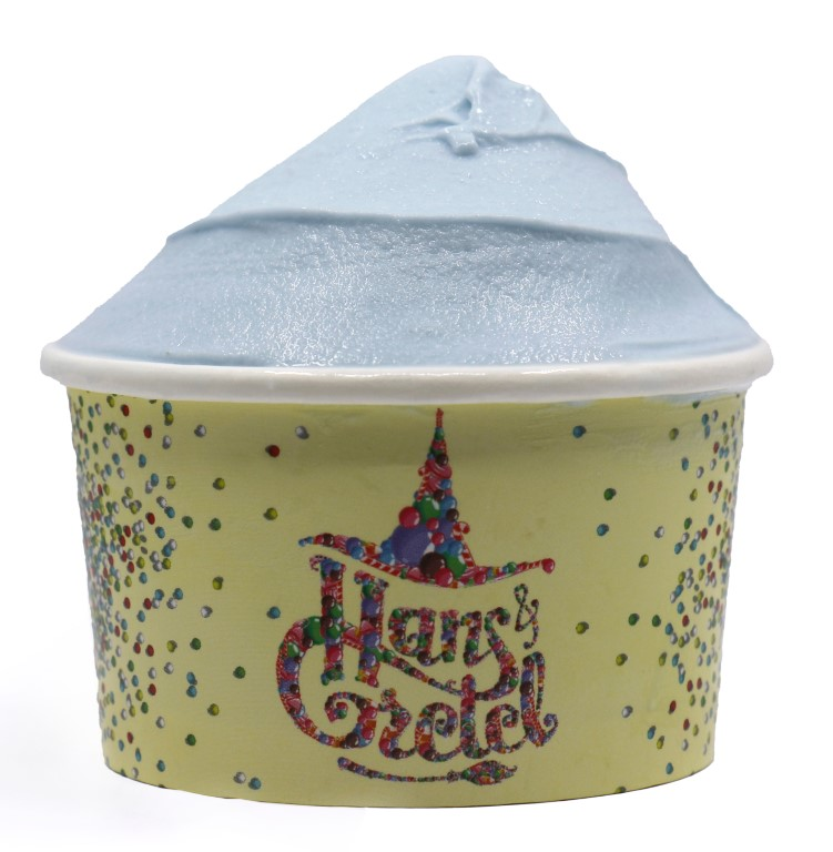 Blue Vanilla Ice Cream - Small