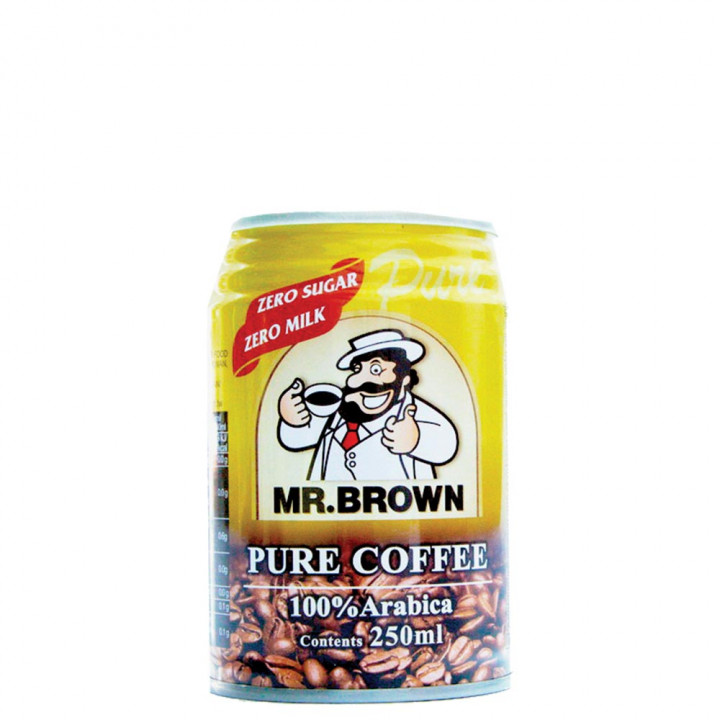 MR BROWN ICED COFFEE PURE  250ML
