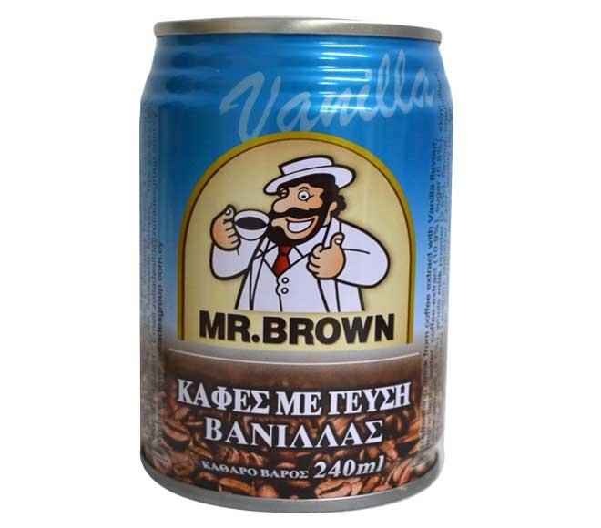 MR BROWN ICED COFFEE VANILLA  240ML
