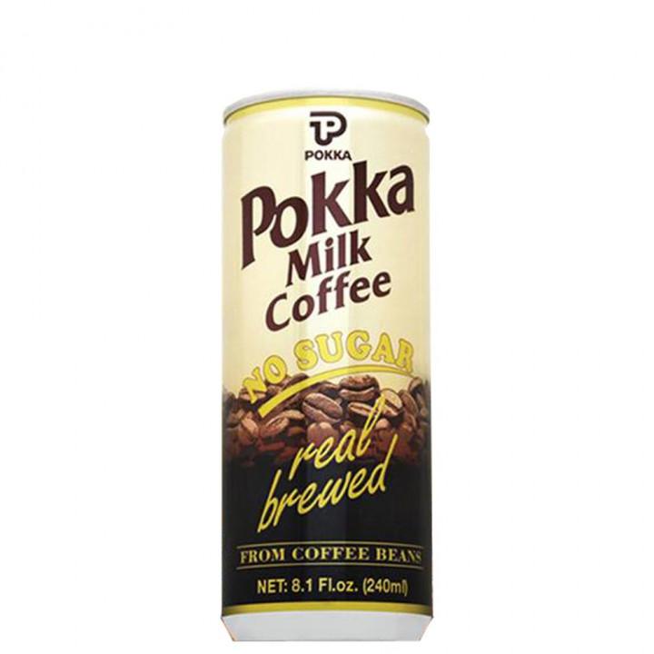 POKKA MILK COFFEE NO SUGAR  240ML