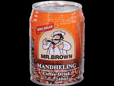 MR BROWN ICED COFFEE MANDEHELING NO SUGAR  250ML