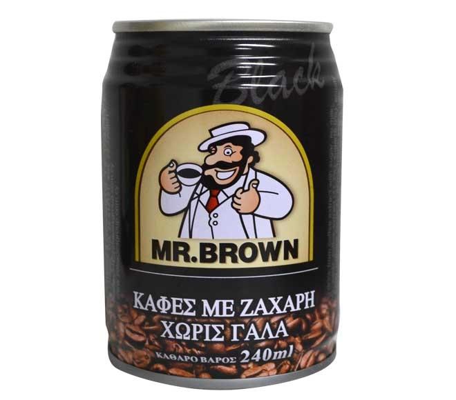 MR BROWN ICED COFFEE BLACK  250ML