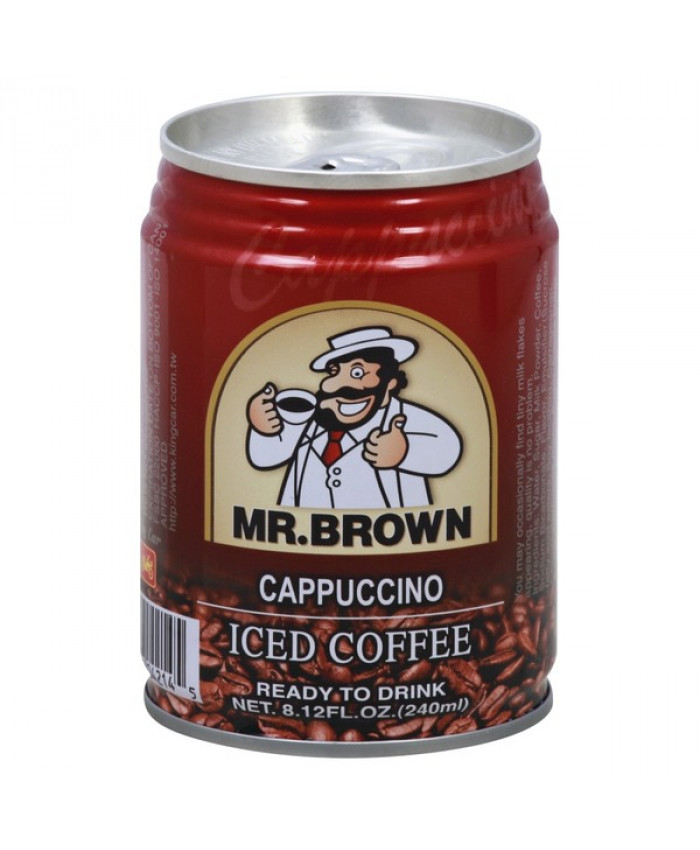 MR BROWN ICED COFFEE CAPPUCCINO  240ML
