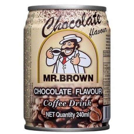MR BROWN ICED COFFEE CHOCOLATE FLAVOUR  240ML