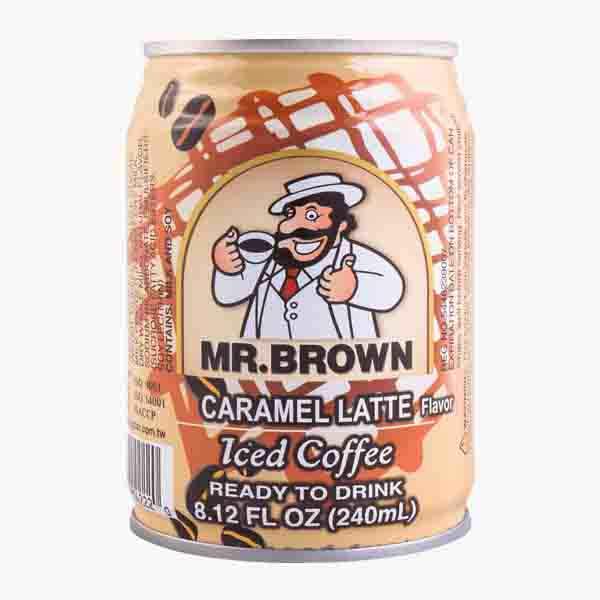 MR BROWN CARAMEL LATTE  250ML