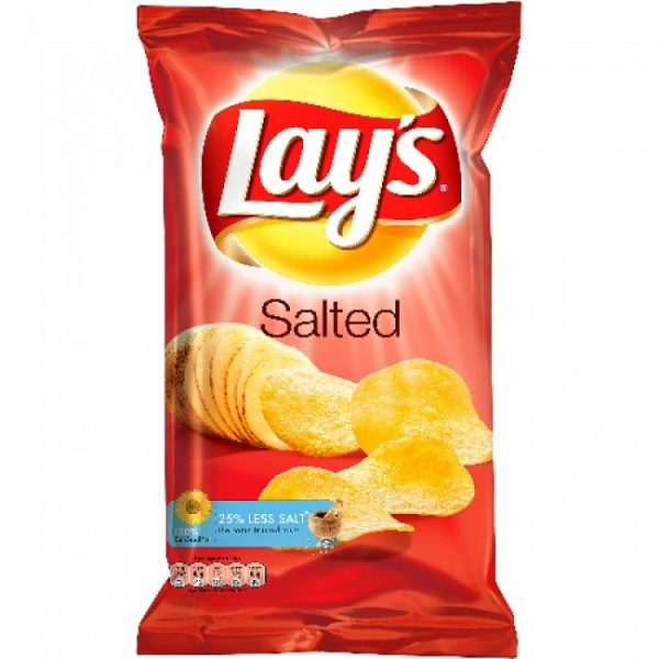 LAYS SALTED  100G