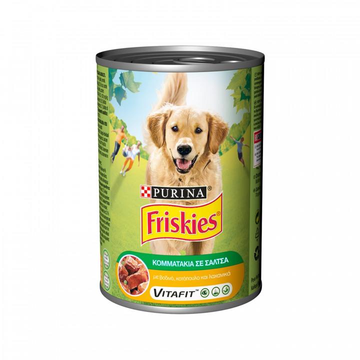 FRISKIES WET DOG CHICKEN  400GR