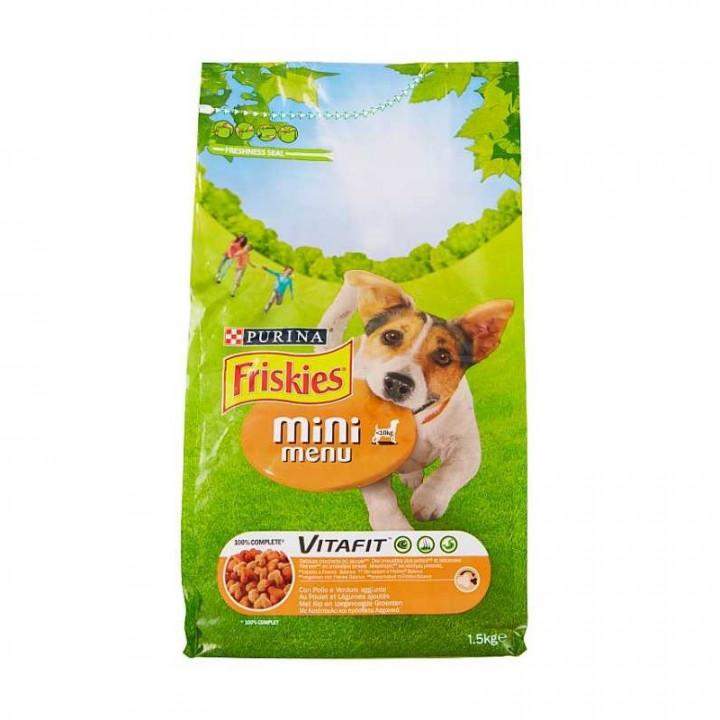 FRISKIES DOG CHICKEN & VEGETABLES  1.5KG