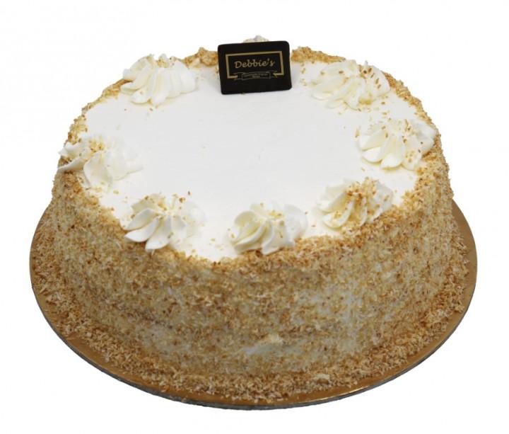 "Coconut & Almond Cake 9"""