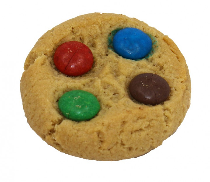 Mini Rainbow Cookies (per cookie)