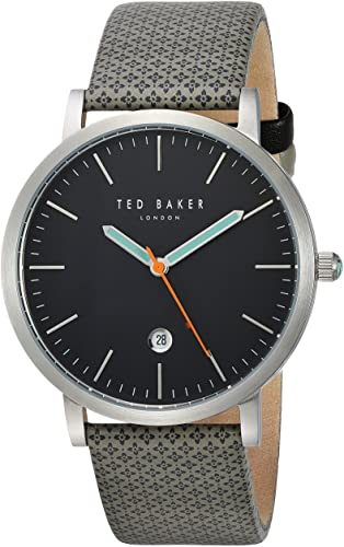 TED BAKER GENTS WATCH GREY/SILVER 40mm