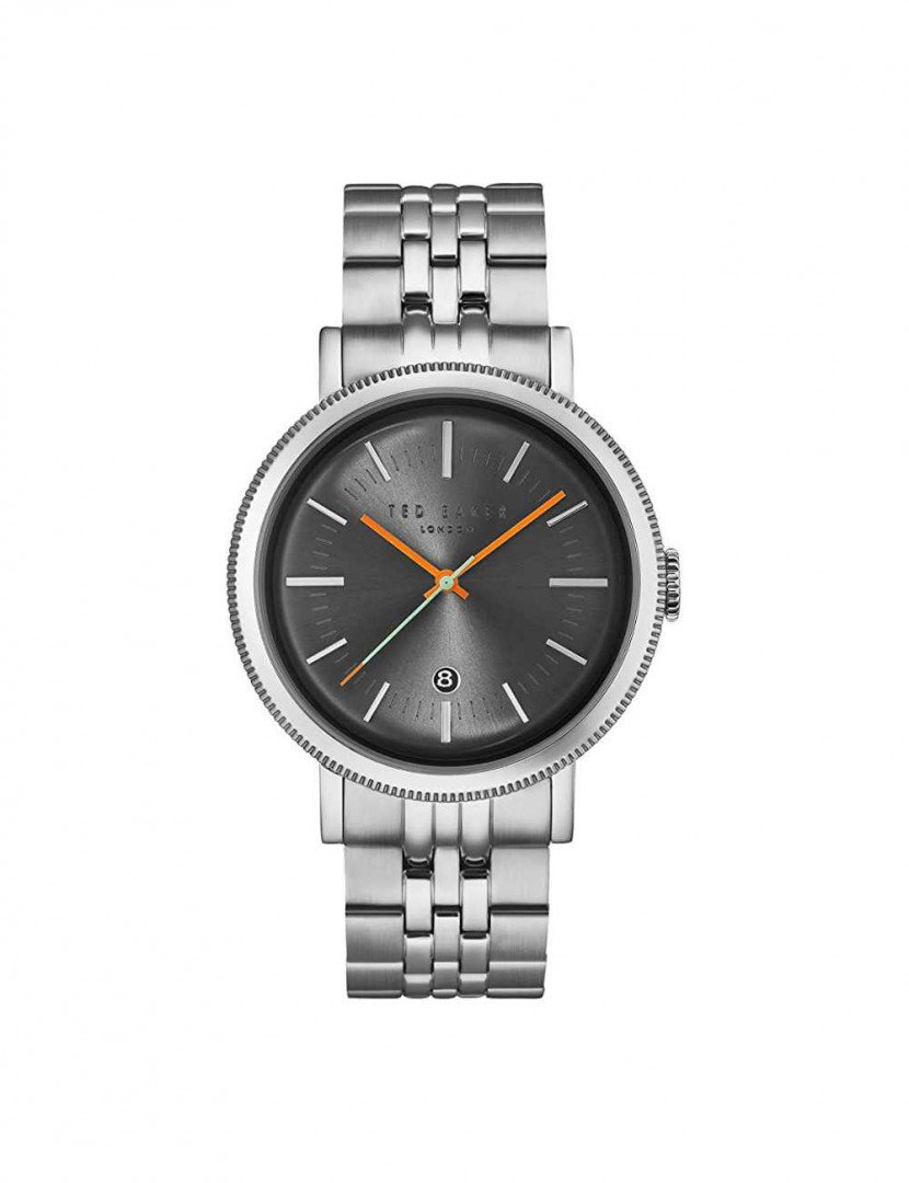 TED BAKER GENTS WATCH SILVER/*GREY