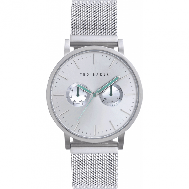 TED BAKER GENTS WATCH SILVER 40mm