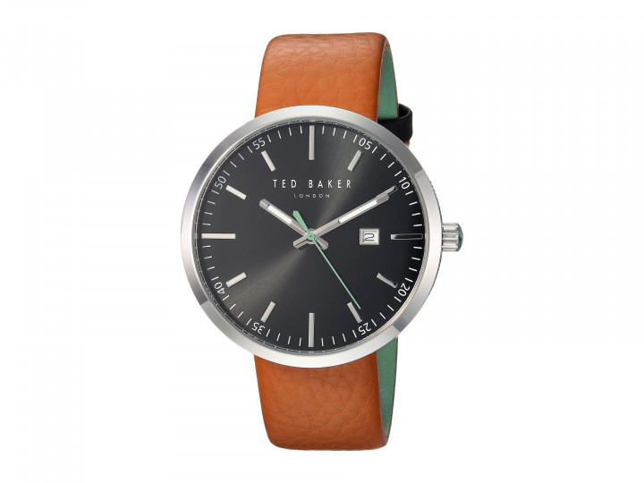 TED BAKER GENTS WATCH BROWN/SILVER